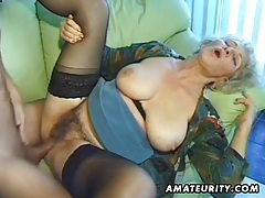 Old amateur mature wife sucks and fucks with cumshot tubes