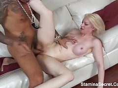 Hot asian girl nailed with a large black cock tubes
