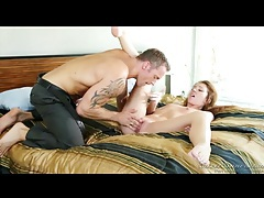 Romantic missionary fuck with skinny babe tubes
