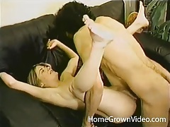 Slim amateur is a hot fuck in hardcore clip tubes