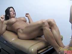 Angela salvagno - cock workout 2 of 2 tubes