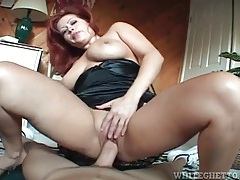 Housewife takes pov cock ride on you tubes