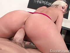 Pussy sits on dick reverse cowgirl in pov tubes