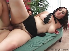Hairy box of this curvy girl fucked hardcore tubes