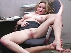 Cum on her tits and in her armpits tubes
