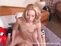 Skinny body is great for hardcore fucking tubes