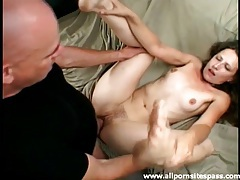 Cute slim girl fucked hardcore in her cunt tubes