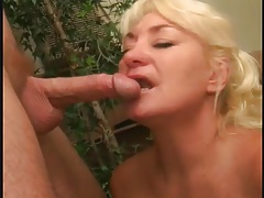 Two hot mature blowjob videos in one tubes