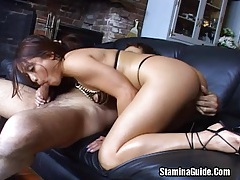 Asian babe fucked by a black cock on her ass tubes