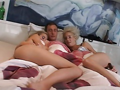 After hours threesome party tubes