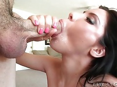 She sucks cock in the nude with big tits out tubes