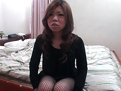 She takes out big japanese tits to get groped tubes