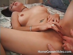 Young shaved amateur is great in hardcore fuck video tubes