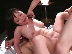 Double penetration and a sizzling ass fuck tubes