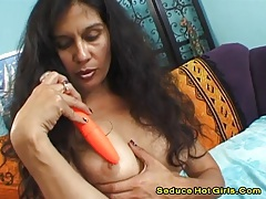 Bexxy -brunette milf fucked really hard and got a facial tubes