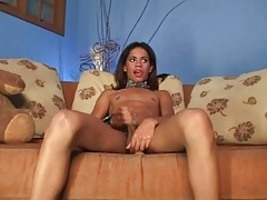 Striptease from a petite shemale beauty tubes