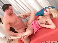 Fit guy fucks this curvy blonde slut in heels hard and fast tubes