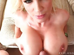 Big titties and pretty faces take hot cumshots tube