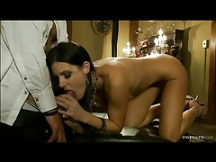 Sexy india summer sucks and fucks at a party tubes