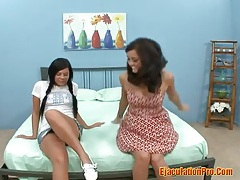 Madison parker - two young  lesbians licking and playing their pussies tubes