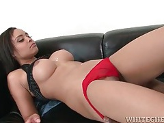 Big boobs on a cute black girl he fucks doggystyle tubes