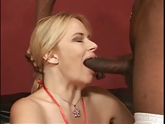 White mommy with fake tits fucked by black cock tubes