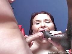 Double anal penetration of pornstar katja kassin tubes
