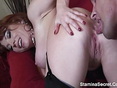 Brittany oconnell - redhead milf nailed roughly and got facial cum 2 tubes