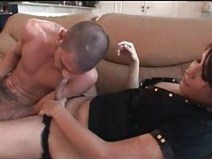 Shemale is sexy in dick sucking video tubes