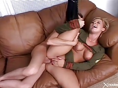 Shiny boots girl butt fucked and moaning for it tubes