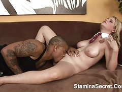 Daina divine -interracial for awesome blonde and cum tubes