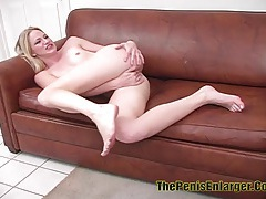 Petite blonde babe nailed in the ass and got creampie tubes