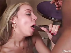 Double vaginal penetration from two black cocks tubes