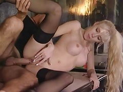 Blonde with wicked perky titties ass fucked tubes