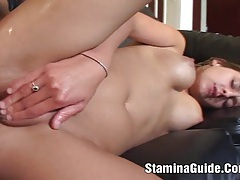 Poppy morgan - rough sex for hot brunette babe and got anal 2 tubes