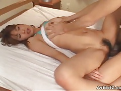 Asain amateur fucked in her hairy japanese pussy uncensored tubes