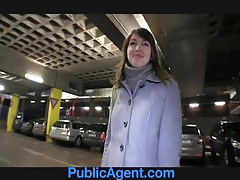 Publicagent lyda has sex in my car for cash to buy clothes tubes