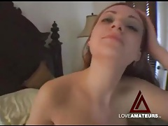 Young redhead laid in her tight fresh cunt tubes