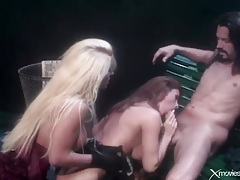 Jill kelly hardcore threesome outdoors with cumshot tubes