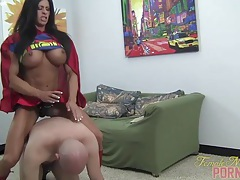 Angela salvagno - supergirlfriend 2 tubes