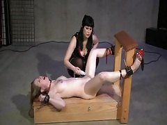 I am tied down and toyed tubes