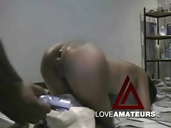 Big black cock fucks a slutty girl in the ass tubes