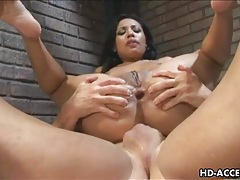 Prison bitch gets hard anal drilling from the screw tubes