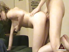 He fondles her tits as perfect body girl rides him tubes