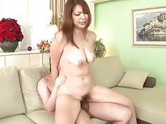 Girl standing bent over and fucked as she sucks tubes