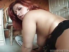 Redhead with a big ass fucked in pov from behind tubes