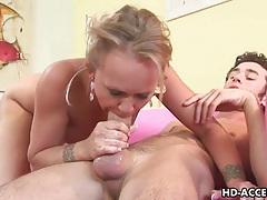 Mature milf takes it in every hole tubes