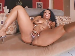 Tight wet pussy of black bbw boned deep tubes