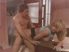 Blonde eating shaft and having anal sex tubes