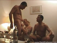 Kinky dutch woman gets pounded tubes